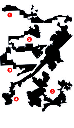 ILLUSTRATION: Gerrymandering